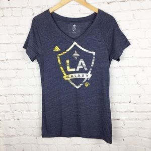 Adidas LA Galaxy Team T-shirt. Size Large for sale